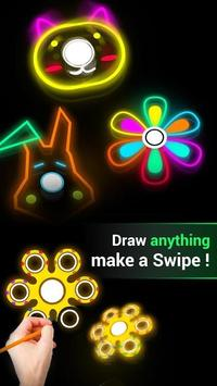 Fidget Spinner : Draw And Spin poster
