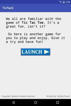 Tic Tac Q poster