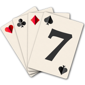 Sevens Playing Cards Game icon