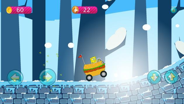 Sponge-bob Hill Climbing screenshot 8