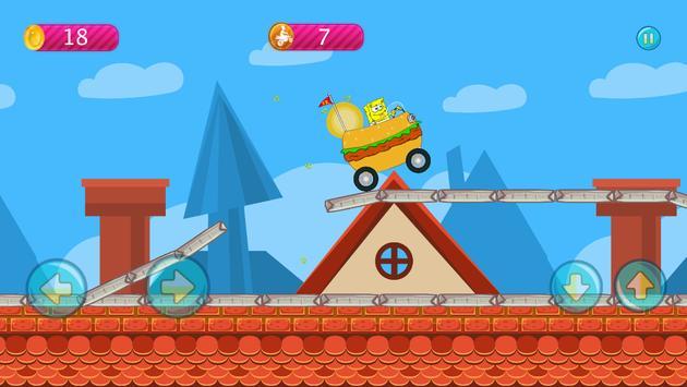 Sponge-bob Hill Climbing screenshot 13