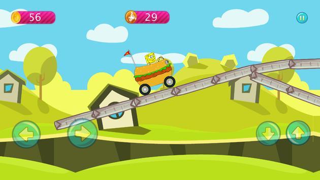 Sponge-bob Hill Climbing screenshot 19
