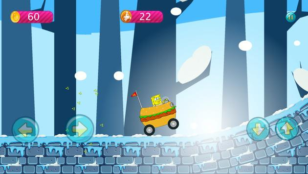 Sponge-bob Hill Climbing screenshot 1