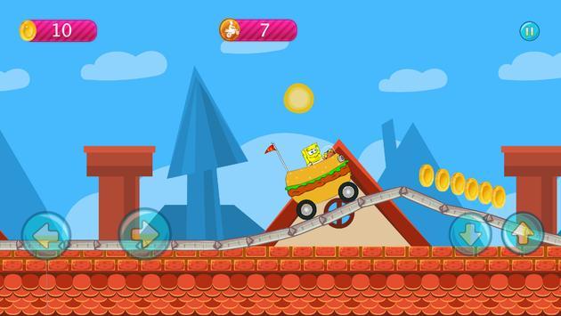 Sponge-bob Hill Climbing screenshot 2