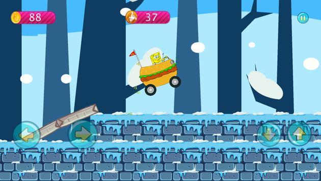 Sponge-bob Hill Climbing screenshot 3