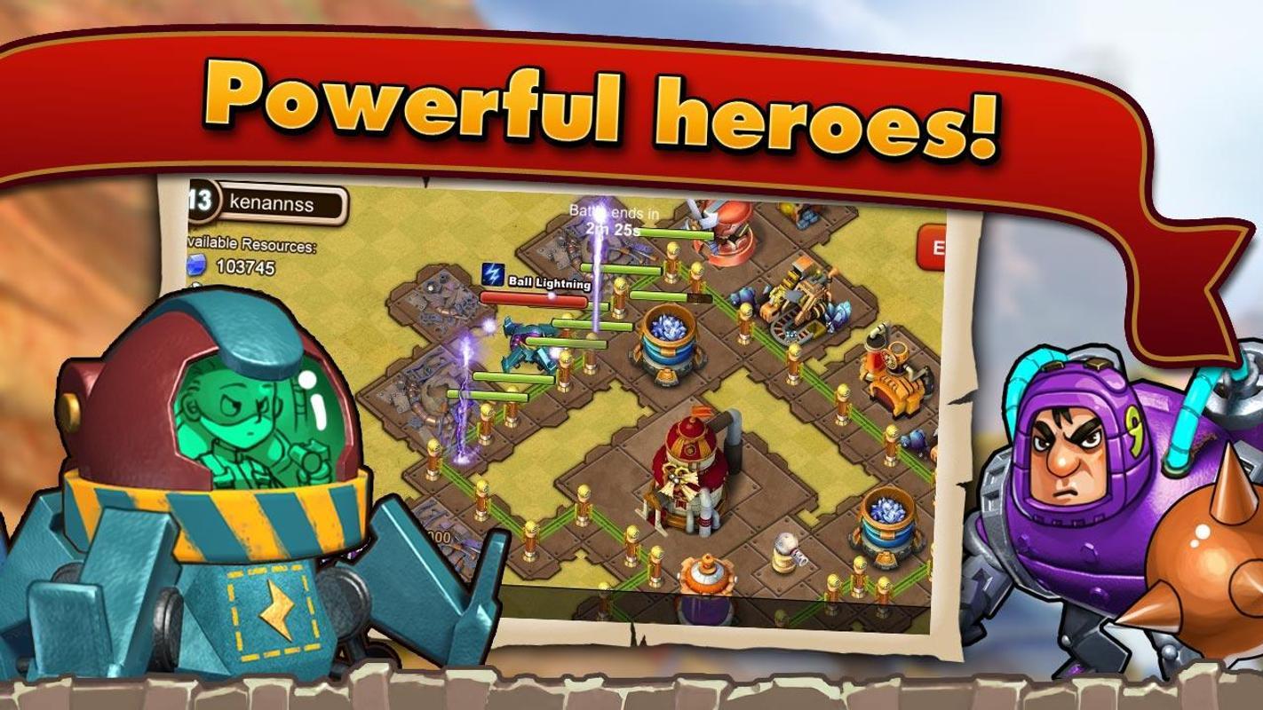 clash of heroes apk download gratis strategi permainan. Black Bedroom Furniture Sets. Home Design Ideas