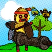 Island Pou Craft vs Boom - Princess Survival Games icon