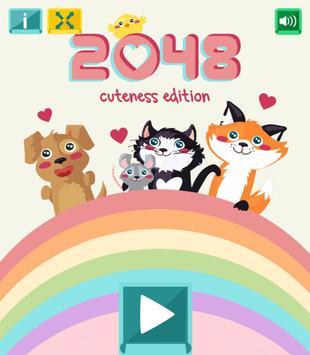2048 Cuteness Edition apk screenshot