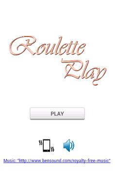 Roulette Play screenshot 1