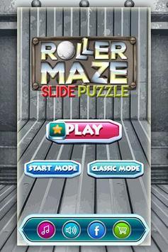 Roller Maze Slide Puzzle poster