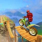 Bike Stunts Racing Free icon
