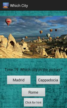 Which City apk screenshot