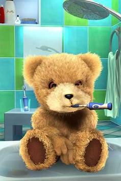 Teddy Bear Bathe -Talking Bear poster