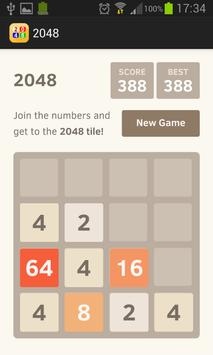 2048 apk screenshot