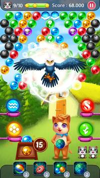 Rescue Witch Cat: Bubble Pop apk screenshot