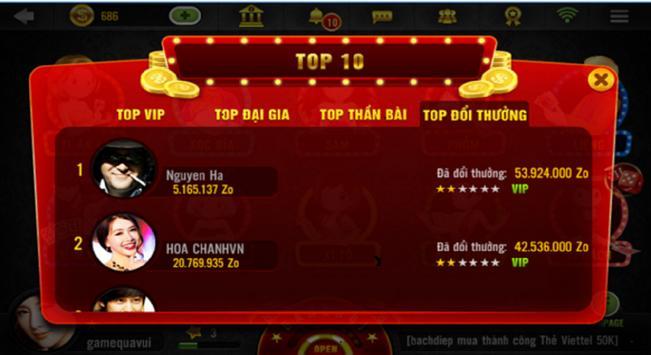 Danh bai doi thuong BigOne 2018 screenshot 8