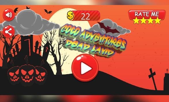 Coco adventures dead land poster