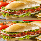 Find differences game - Food icon