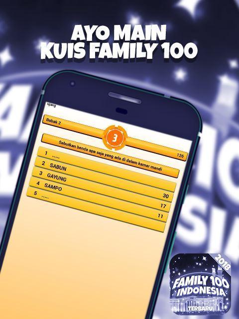 Kunci Jawaban Family 100 Level 3 2019 Gudang Kunci