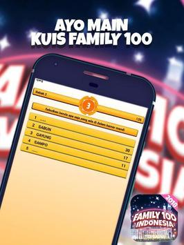 Kuis Family 100 Indonesia 2018 screenshot 1