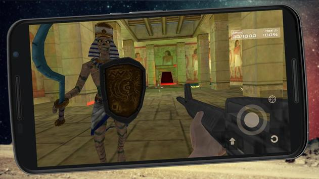 FPS Mummy Slayer Attack screenshot 2