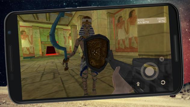 FPS Mummy Slayer Attack screenshot 3