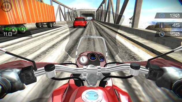 Highway Moto Traffic Rider screenshot 5