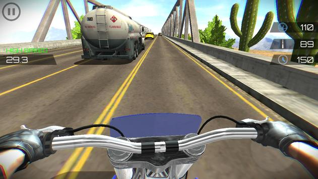 Highway Moto Traffic Rider screenshot 15