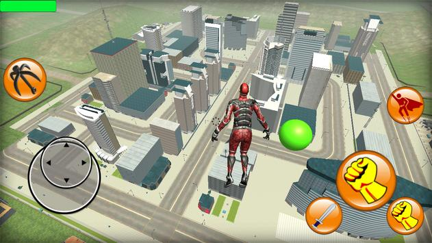 Super Rope Red Hero apk screenshot