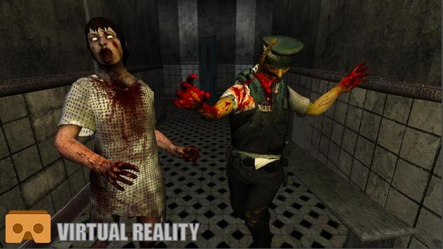Zombie Hospital VR poster