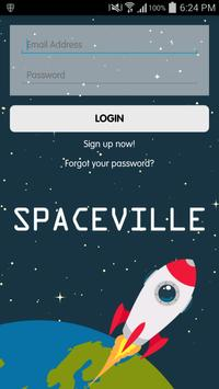 The Spaceville poster