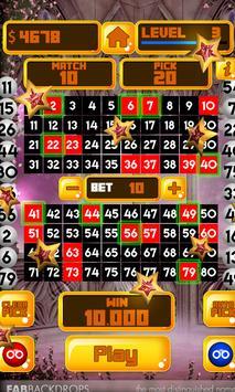 King of Keno - FREE Vegas Casino Games screenshot 1