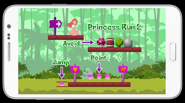 Princess Run 2 screenshot 2