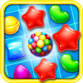 Candy Matching Sweet best Free match 3 puzzle icon
