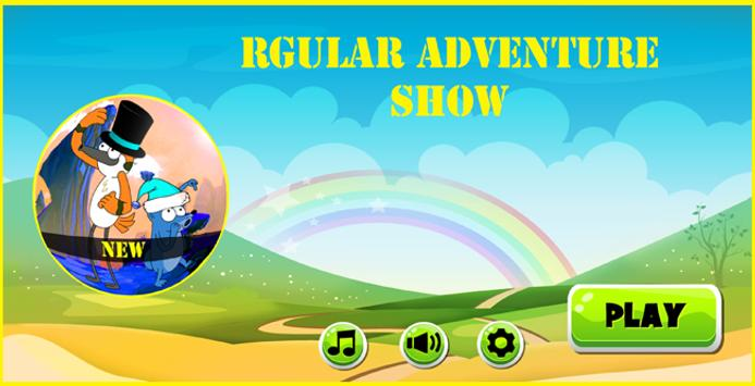 rgular adventure show new poster