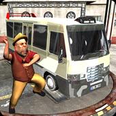 Real Minibus Drift Driver 2017 icon