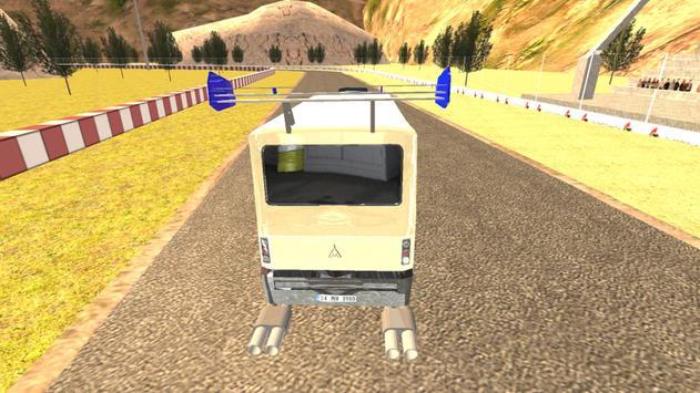 Real Minibus Drift Driver 2017 apk screenshot