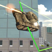 Real Flying Tank Simulator 3D icon
