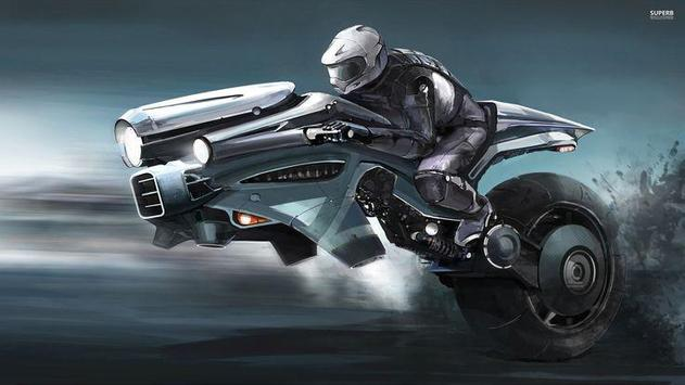 Flying Motorcycle Simulation apk screenshot