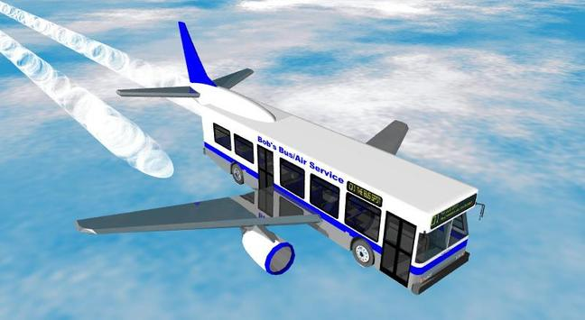 Flying Bus Simulator Free 2016 apk screenshot