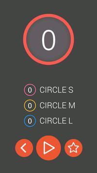Circle 타이밍 게임 скриншот 1