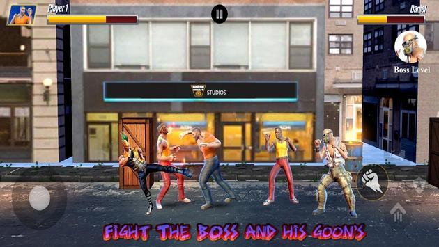 Street Hero Fighting- Vice City Gang Kick Boxer screenshot 10