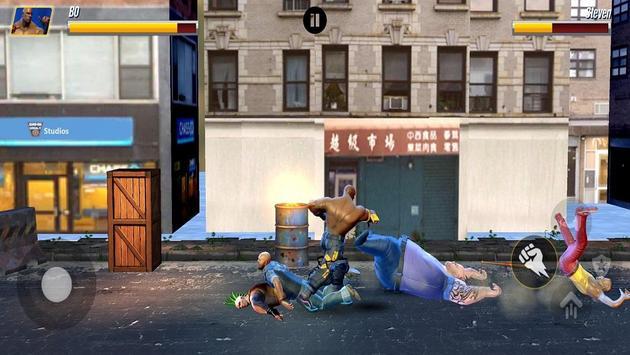Street Hero Fighting- Vice City Gang Kick Boxer screenshot 13