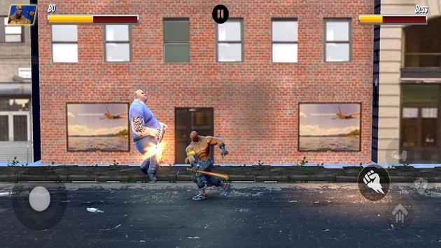 Street Hero Fighting- Vice City Gang Kick Boxer screenshot 2
