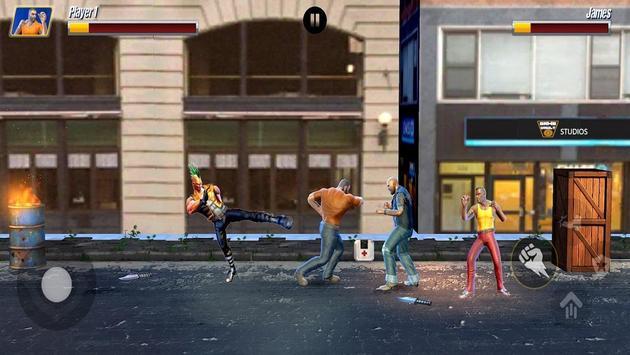 Street Hero Fighting- Vice City Gang Kick Boxer screenshot 7
