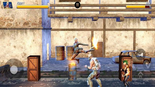 Street Hero Fighting- Vice City Gang Kick Boxer screenshot 5