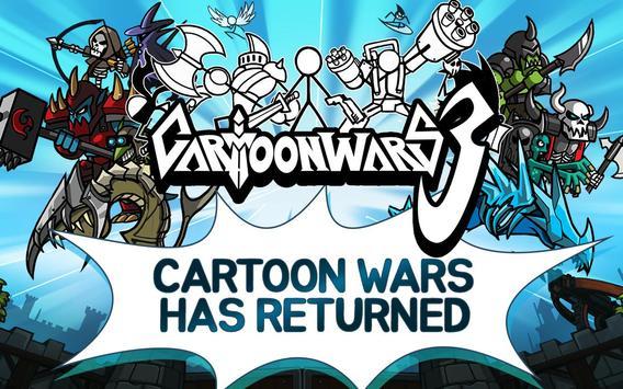 Cartoon Wars 3 screenshot 1