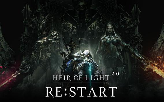 HEIR OF LIGHT poster