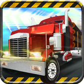 Modern Truck Delivery icon