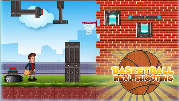 Basketball Real Shooting poster